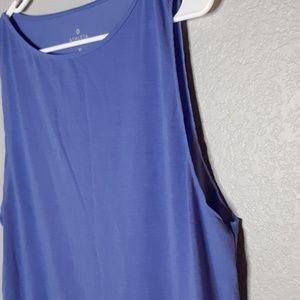 Athleta Tops - Athleta Periwinkle Blue Lightweight Muscle Tanktop